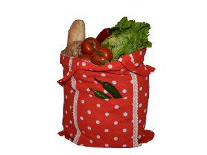 Sacosa rustica pentru cumparaturi zero waste