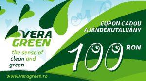 Cupon cadou Vera Green 100 lei