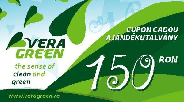 Cupon cadou Vera Green 150 lei