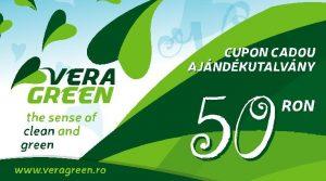 Cupon cadou Vera Green 50 lei
