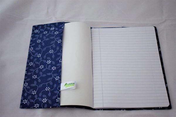 Coperte pentru caiete zero waste floricele albe