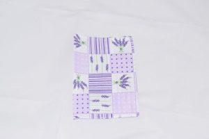 Coperte pentru caiete din textil lavanda