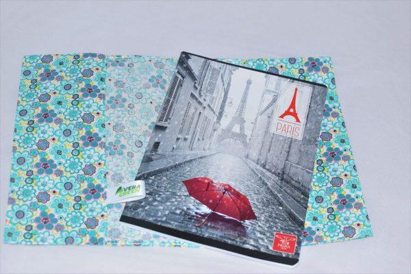 Coperte pentru caiete din textil
