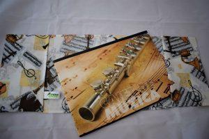 Coperte pentru caiete zero waste muzica