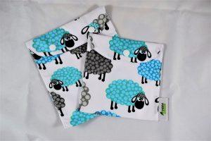 Set Snackbag pentru sandvisuri ecologic turma de oi